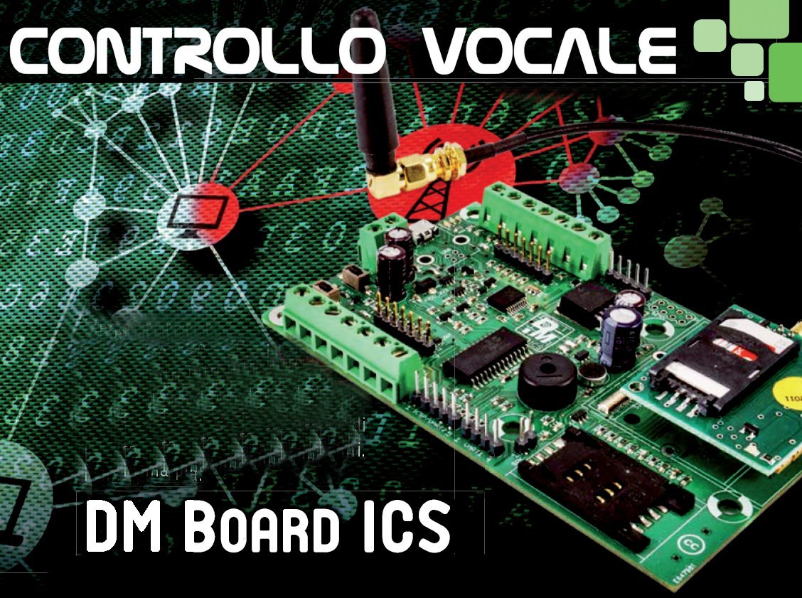 Controllo vocale con DM Board ICS